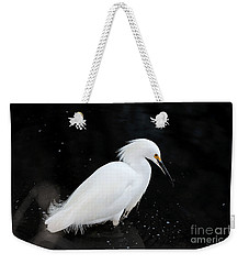 Young Snowy Egret Weekender Tote Bag
