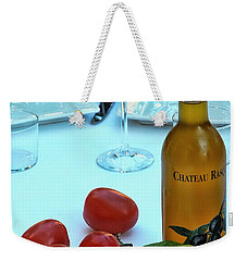 Weekender Tote Bag featuring the photograph Your Table Is Ready by Allen Beatty