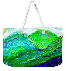 Weekender Tote Bag featuring the digital art Van Gogh Sunrise by The Art of Alice Terrill