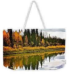 Yukon Autumn Weekender Tote Bag