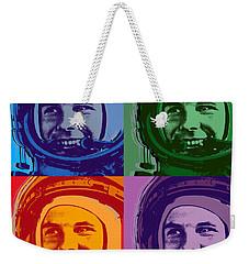 Yuri Gagarin  Weekender Tote Bag by Jean luc Comperat