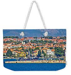 Zadar Waterfront Sea Organs View Weekender Tote Bag