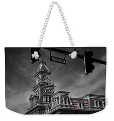 Zanesville Oh Courthouse Weekender Tote Bag