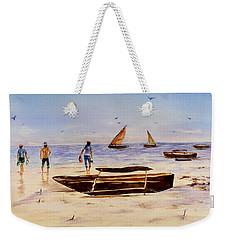 Zanzibar Forzani Beach Weekender Tote Bag by Sher Nasser