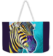 Zebra - Sunrise Weekender Tote Bag