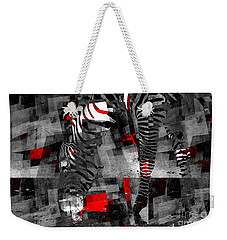 Zebra Art - 56a Weekender Tote Bag by Variance Collections