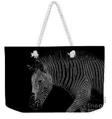 Zebra Art Weekender Tote Bag