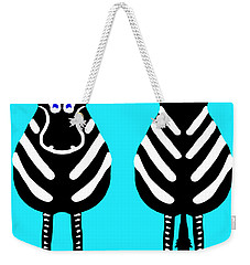 Zebra - Both Ends Weekender Tote Bag