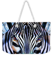 Zebra Dreams Weekender Tote Bag