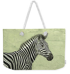 Zebra Weekender Tote Bag by James W Johnson