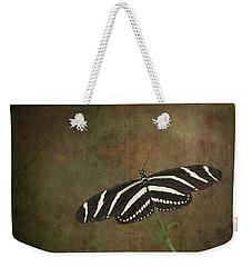 Zebra Longwing  Butterfly-1 Weekender Tote Bag