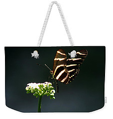 Zebra Longwing Weekender Tote Bag by Greg Allore