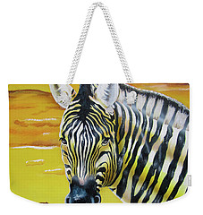 Weekender Tote Bag featuring the painting As Day As Night by Thomas J Herring