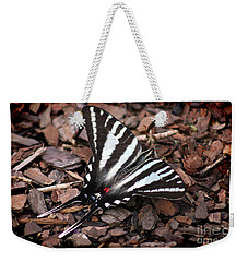 Zebra Swallowtail Butterfly Weekender Tote Bag