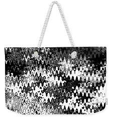 Zebras Weekender Tote Bag by Anita Lewis