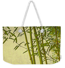 Zen Bamboo Abstract I Weekender Tote Bag by Marianne Campolongo