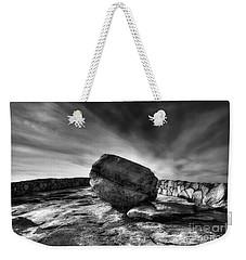 Zen Black White Weekender Tote Bag
