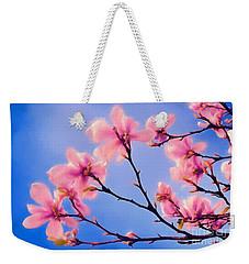Cherry Blossums In Digital Watercolor Weekender Tote Bag