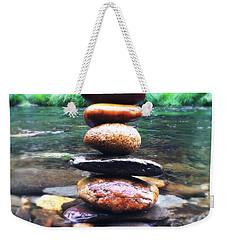 Zen Stones II Weekender Tote Bag by Marco Oliveira