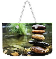 Zen Stones Weekender Tote Bag by Marco Oliveira