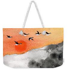 Zen Sunset Weekender Tote Bag