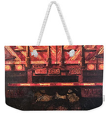Zen Transport Weekender Tote Bag by Blue Sky