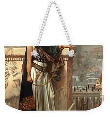Zenobia's Last Look On Palmyra Weekender Tote Bag