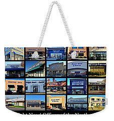 Weekender Tote Bag featuring the photograph Zimmer Dental Partners With Bright Nows by Benjamin Yeager
