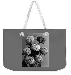 Zinnia Lilliput Flowers Weekender Tote Bag