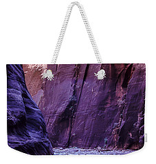 Zion Narrows Weekender Tote Bag