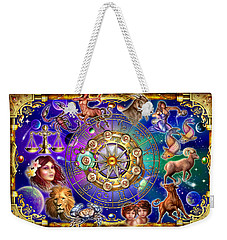 Zodiac 2 Weekender Tote Bag by Ciro Marchetti