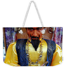 Weekender Tote Bag featuring the photograph Zoltar by Ed Weidman