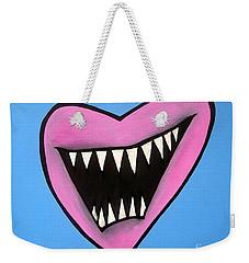Zombie Heart Weekender Tote Bag