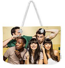 Zooey Deschanel New Girl Tv Show  Weekender Tote Bag