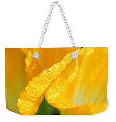 Zucchini Flowers In May Weekender Tote Bag by Kume Bryant