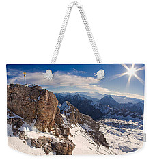 Zugspitze Summit Weekender Tote Bag