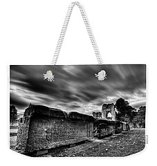 Weekender Tote Bag featuring the photograph  Ancient Lives by Beverly Cash
