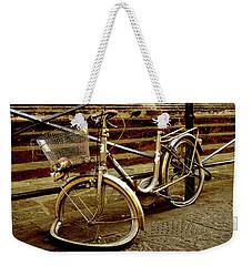 Bicycle Breakdown Weekender Tote Bag