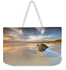 Dusk On The Beach Weekender Tote Bag