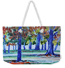 Fall In My Backyard Weekender Tote Bag