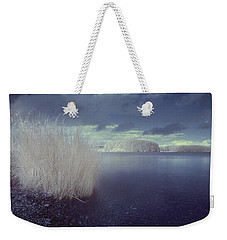 Weekender Tote Bag featuring the photograph  Infrared At Llyn Brenig by Beverly Cash