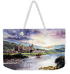 Late Evening At Tintern Abbey Weekender Tote Bag