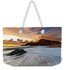 Llanddwyn Island Lighthouse Weekender Tote Bag