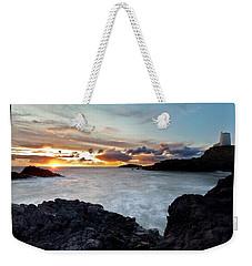 Llanddwyn Island Sunset Weekender Tote Bag
