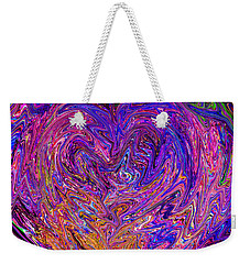 Love From The Ripple Of Thought  V 6  Weekender Tote Bag