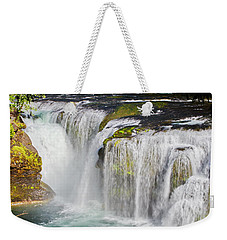 Lower Falls On The Upper Lewis River Weekender Tote Bag