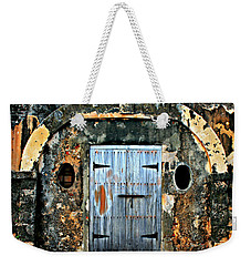 Old Wooden Doors Weekender Tote Bag