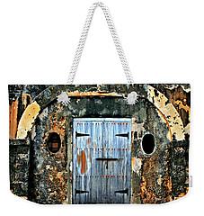 Old Wooden Doors Weekender Tote Bag