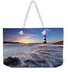 Penmon Point Lighthouse Weekender Tote Bag