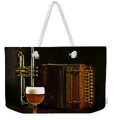 Polka Time Weekender Tote Bag